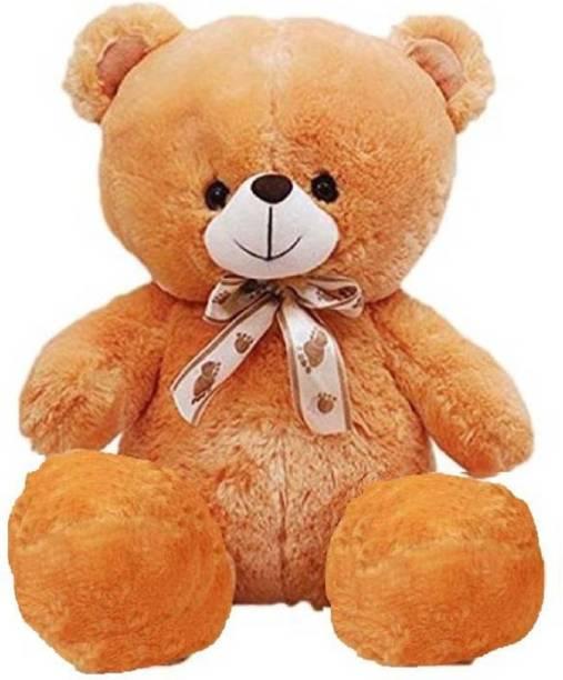 KIDZ Zone 2 Feet Sitting Soft Cute Teddy Bear Best For Gift  - 60 cm
