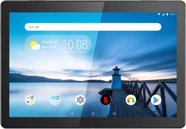 Lenovo Tab M10 FHD 2 GB RAM 16 GB ROM 10.1 inch with Wi-Fi+4G Tablet (Slate Black)