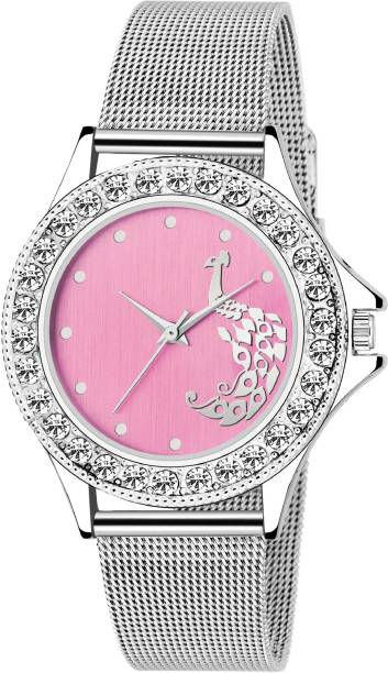 751594a2448 True Colors LADIES TC-133-Pink Dial-SHAFFERÂ Chain Analog Watch - For