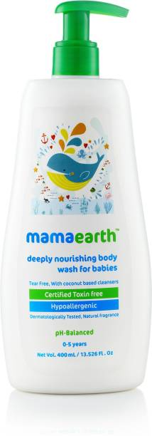 MamaEarth Deeply Nourishing Body Wash for Babies-400ml