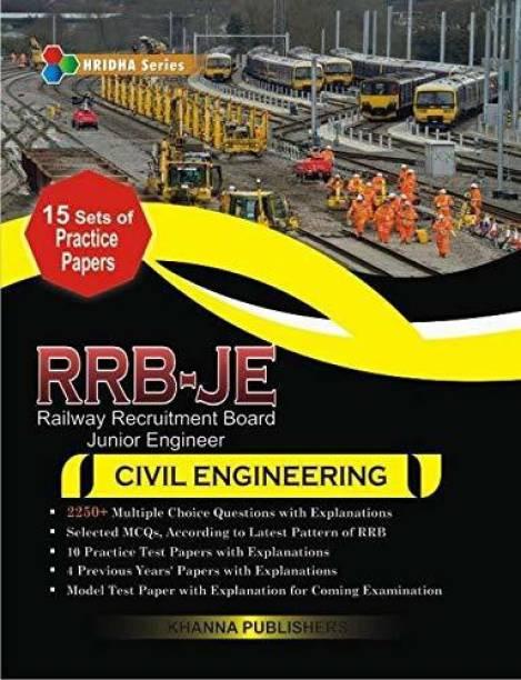 RRB-JE (Railway Recruitment Board-Junior Engineering) In Civil Engineering Paperback – 2018