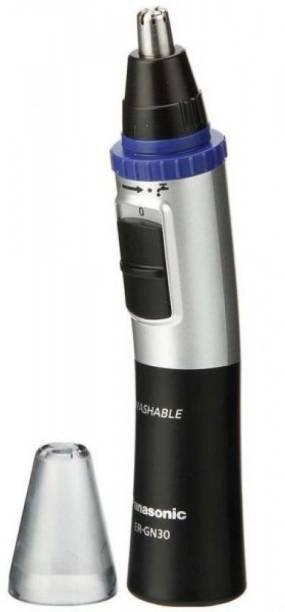 Panasonic ER-GN30-K Men Nose & Ear Hair Trimmer  Runtime: 30 min Trimmer for Men
