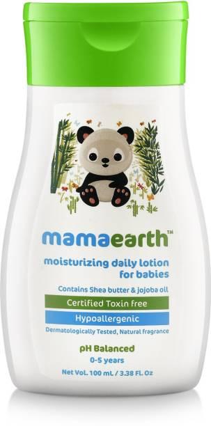 MamaEarth Moisturizing Daily Lotion For Babies/Kids-100ML