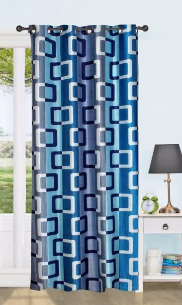 Achintya 152.4 cm (5 ft) Polyester Window Curtain Single Curtain