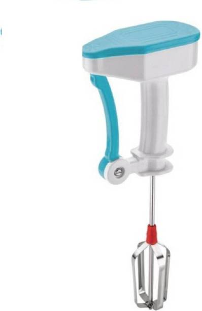 AnEk goods Manual Portable Non-Electrical Hand Blender/Beater/Whisker/Hand Juicer for Beating Lassi, Egg, Butter Milk(Chaach), Soup, Coffee, Milk- Shake, Thick Shake, Cream Beater, Cake Paste, Dal, 0 W Stand Mixer, Electric Whisk, Hand Blender