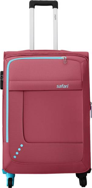 47c8bd59e1b6 Safari STAR 65 4W RED Expandable Check-in Luggage - 26 inch