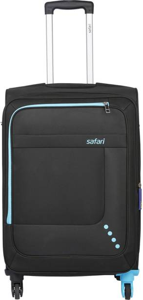 5a8794c0eff Safari STAR 55 4W BLACK Expandable Cabin Luggage - 22 inch
