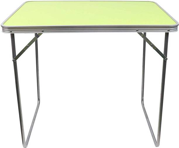 Kurtzy Camping Portable Aluminium Outdoor Table Metal Outdoor Table