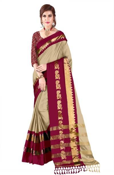 2085215ab3 Bombey Velvat Fab Solid Maheshwari Cotton Silk, Poly Silk, Poly Silk Saree
