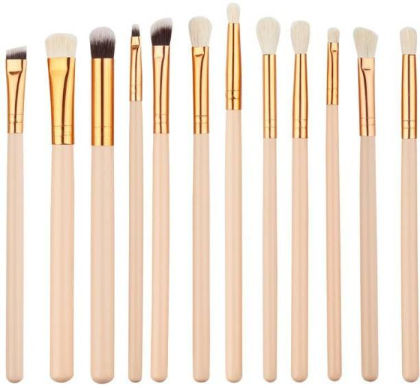 Futurekart Pack Of 12 Professional Makeup Brushes Set Foundation Blending Blush (as show in picture)