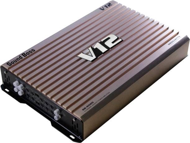 Sound Boss DUAL COIL 4 CHANNEL AMPLIFIER 8600W MAX OUTPUT POWER BRIDGEABLE Multi Class AB Car Amplifier