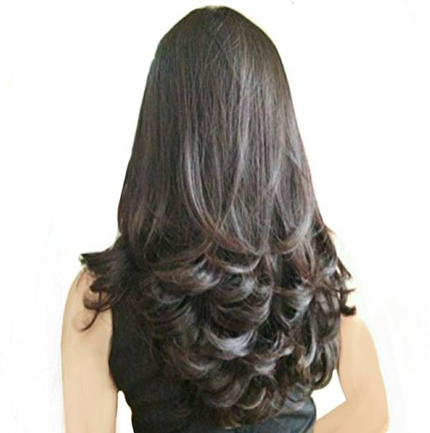 3e550266f Alizz Beautiful multicolor hair extension for women girls out curl ladies wig  Hair Extension