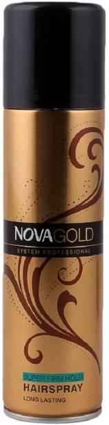 NOVA Gold professional long lasting super hold hair spray Hair Spray