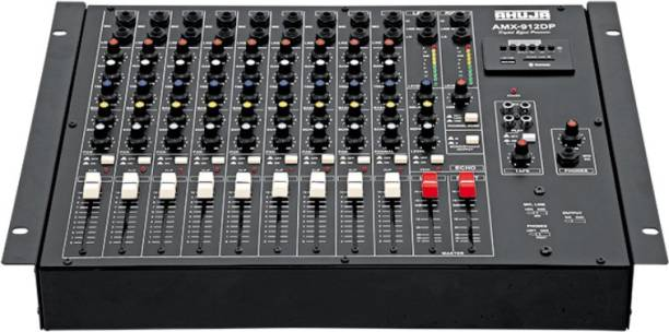 Ahuja AMX-912DP with Bluetooth & USB (9Channel) Digital Sound Mixer