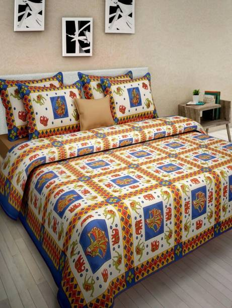 6bb80ee552 Cotton Bedsheets Online at Discounted Prices on Flipkart