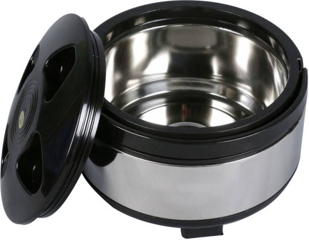 LIFEMUSIC Best Collection Stainless Steel Chapati Box / Casserole set/ / Bread container / Hot pot / Food warmer Food Container Thermoware Casserole