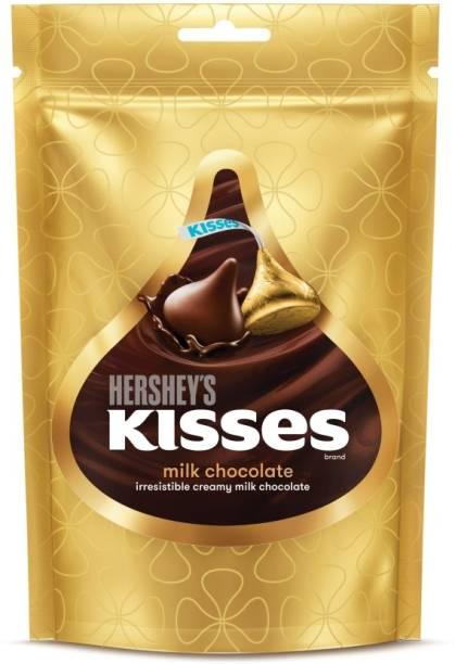 HERSHEY'S Kisses Creamy Milk Chocolate Truffles