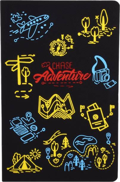 doodle Adventure Tales Soft Bound Notebook A5 Diary Ruled 160 Pages