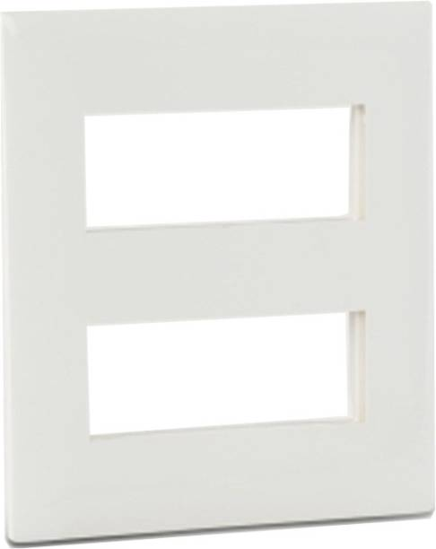 Legrand Cover Plate With Frame 2X4M White Wall Plate