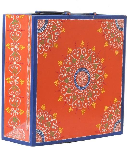 Apkamart Handicraft Magazine Floor Standing Magazine Holder