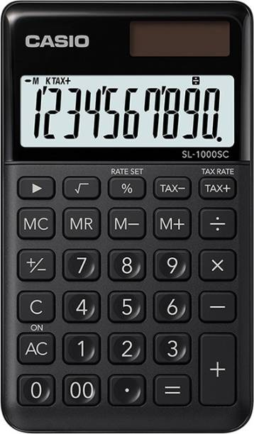 CASIO SL-1000SC-BK Portable Basic  Calculator