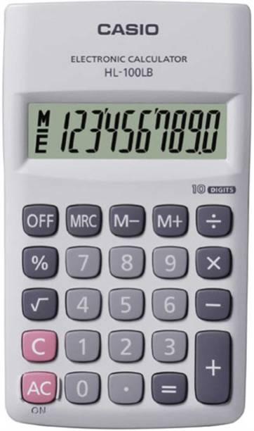 CASIO HL100LB Portable Basic  Calculator