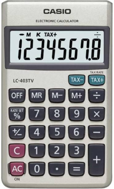 Casio Lc 403tv Portable Basic Calculator