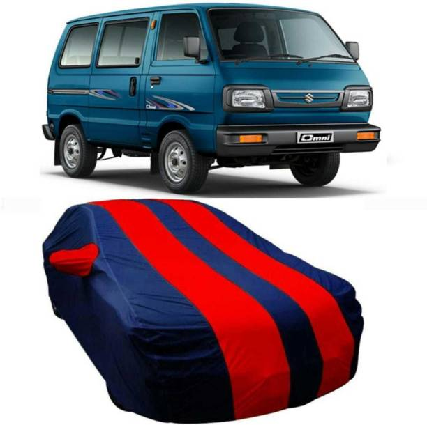 AUCTIMO Car Cover For Maruti Suzuki Omni (With Mirror Pockets)