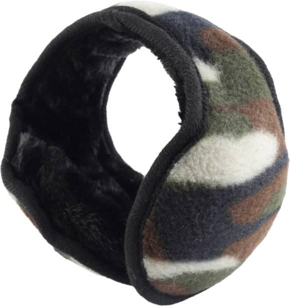 FabSeasons Camouflage Headwear Faux Fur Ear Muffs / Ear Warmers - Behind The Head Style Winter Earmuffs for Men & Women Ear Muff