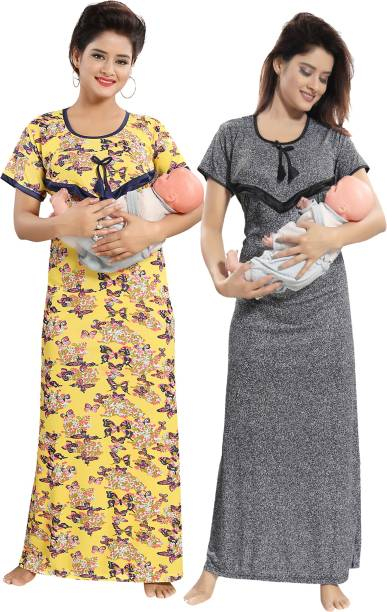 d9e5f4d4bb04a Maternity Night Dress Nighties - Buy Maternity Nightdress Nighties ...