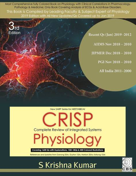CRISP – Complete Review of Integrated Systems-(New SARP Series for NEET/NBE/AI)