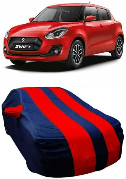 AUCTIMO Car Cover For Maruti Suzuki Swift (With Mirror Pockets)