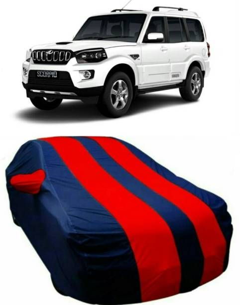 AUCTIMO Car Cover For Mahindra Scorpio (With Mirror Pockets)
