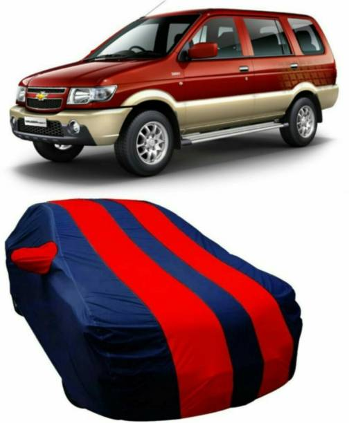 AUCTIMO Car Cover For Chevrolet Tavera (With Mirror Pockets)