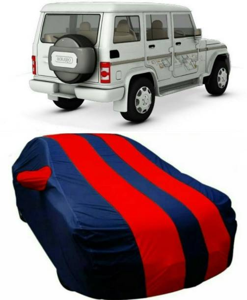 AUCTIMO Car Cover For Mahindra Bolero (With Mirror Pockets)