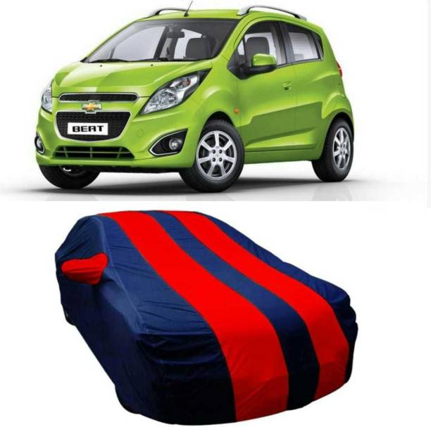 AUCTIMO Car Cover For Chevrolet Beat (With Mirror Pockets)