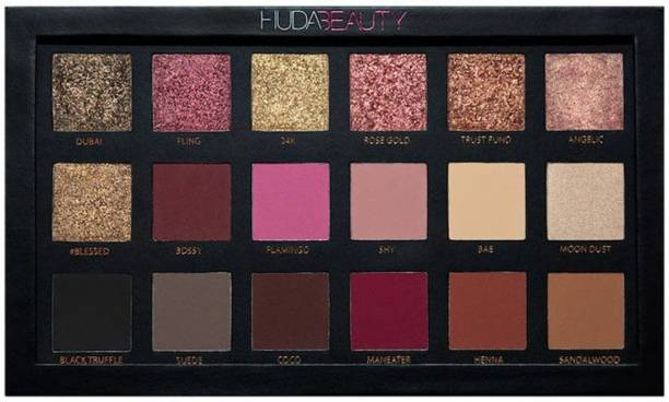 157f4c55d Huda Beauty Rose Gold Edition Eyeshadow Palette - 18 Shades 5 ml  (Multicolor) 5