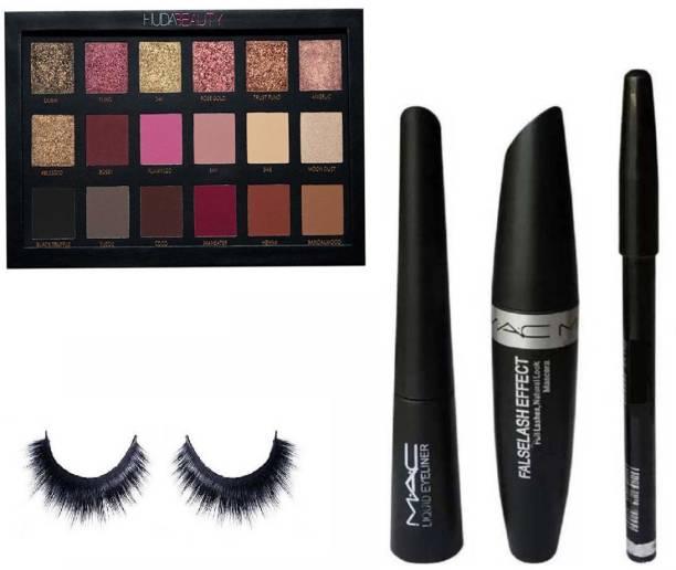 c00580f90b6 Huda Beauty Eyeshadow Palette Rose Gold Edition 33 g (Multi) & Liquid Eye  Liner