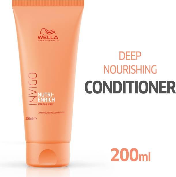 Wella Professionals INVIGO Nutri Enrich Deep Nourishing Conditioner (For Dry And Damaged Hair)