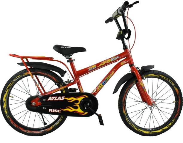 2b92c27c437 Atlas Rise IBC Bicycle For Kids Of Age 5-8Yrs Red&Black 20 T Recreation  Cycle