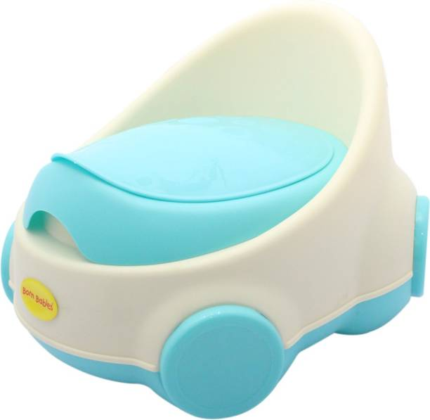 Born Babies Born Babies® Comfort Premium Baby Potty Training Seat with Covering Lid (BLUE) Potty Box