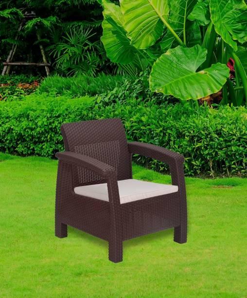 Nilkamal Goa Sofa Fabric 1 Seater  Sofa