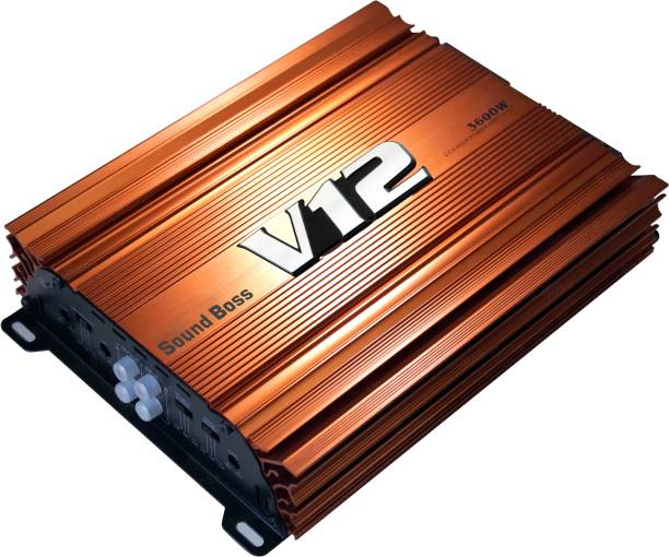 Sound Boss 2 CHANNEL PREDATOR SERIES AMPLIFIER 3600W MAX OUTPUT HIGH POWER MOSFET Two Class AB Car Amplifier