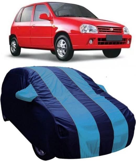 AUCTIMO Car Cover For Maruti Suzuki Zen (With Mirror Pockets)
