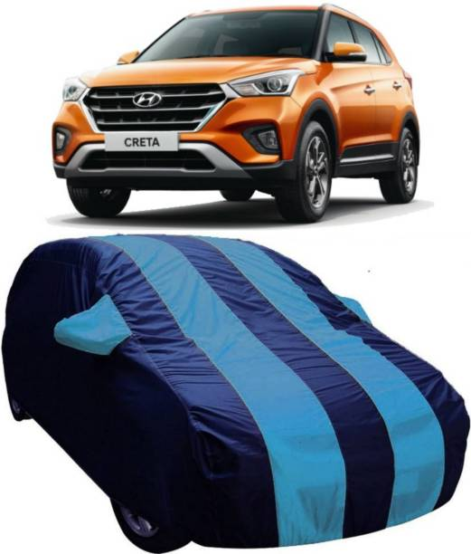 AUCTIMO Car Cover For Hyundai Creta (With Mirror Pockets)