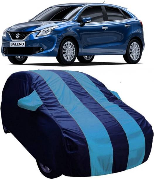 AUCTIMO Car Cover For Maruti Suzuki Baleno (With Mirror Pockets)