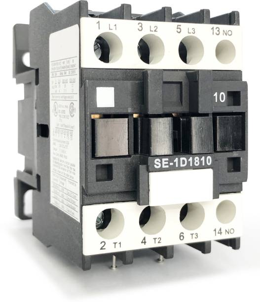 Euro Controls Power Contactor Amps 18a Volts 220 AC Pole 3 Model E - 20 A Three Way Electrical Switch
