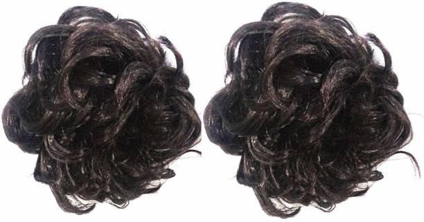 Shining Angel Black Hair Clutcher Juda for Women - Set of 2 Hair Accessory Set
