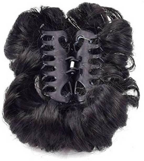 Shining Angel Butefull Black Clour Juda Maker for Girl/Women Set Of 1 Pices Hair Accessory Set