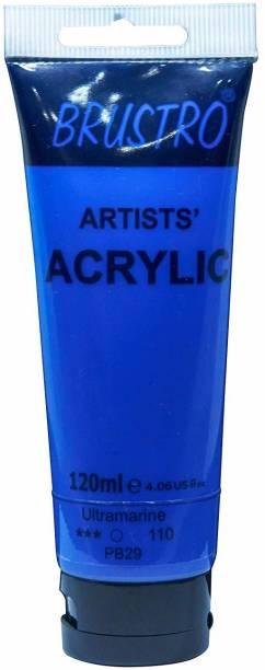 Brustro Artists' Acrylic 120ml Ultramarine